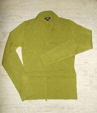 Jersey señora elegante talla s usado suéter suéter mohair verde MNG camiseta polo