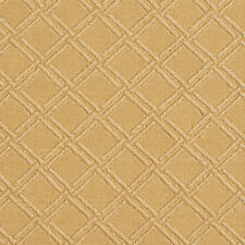 E550 Gold, Diamond Durable Jacquard Upholstery Grade Fabric By The Yard