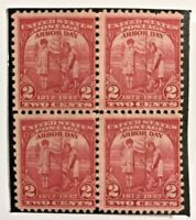 1932 Arbour Day 2 Cent Stamps Unused Block Mint