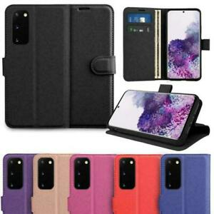 Magnetic Leather Wallet Flip Book Stand Case Cover for Samsung S20 S9 S8 A50 A71