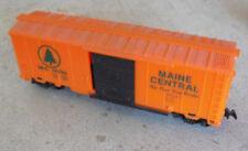 Vintage 1980s HO Scale Orange Maine Central MEC 14785 Boxcar