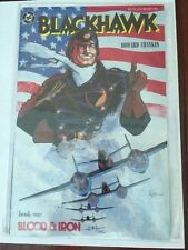 Blackhawk Book One (1) Blood & Iron Great Condition