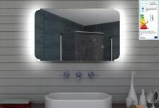 Spiegel Wand Badezimmer Badspiegel Beleuchtet Beleuchtung mit LED Licht 100x60cm