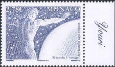 Monaco 2011 Space Flight 50th/Astronauts/Yuri Gagarin/Rockets/People 1v (n45782)