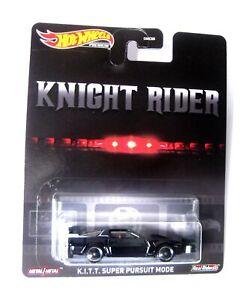 Hot Wheels K.I.T.T. Knight Rider Super Pursuit Mode 1:64