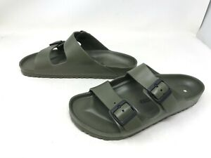 Mens Birkenstock Arizona Eva Olive Green Sandals (432C)