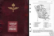 Saab J29 Tunnen Jet Very Rare Period Manual HISTORIC ARCHIVE 1950's Sweedish