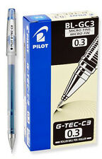Pilot G-Tec-C Blue Micro Fine 0.3mm - 12 Pack  Gel Pen