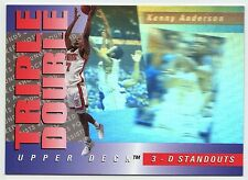 Kenny Anderson 1994 3D Standout Hologram Triple Double Basketball Card