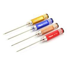 Fastrax FAST 617 endurecido Destornillador Hexagonal Conjunto 4 Tamaños (1.5/2.0/2.5/3.0mm) herramientas rc