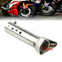 Motorcycle Exhaust Muffler Baffle DB Killer Silencer 50mm Pipe For Harley Honda