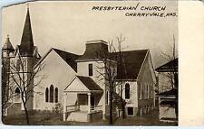 CHERRYVALE, KS Kansas      PRESBYTERIAN CHURCH     c1900s       Postcard