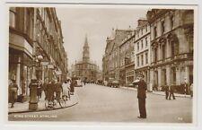 Stirlingshire postcard - King Street, Stirling - RP