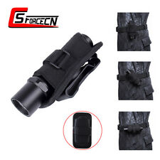 UltraFire Black 360 Degrees Flashlight Pouch Holster for UltraFire WF-501B 501C