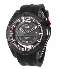 Elini Barokas 20016-BB-01 Men's Master Ghost Black Silicone and Dial Black COOL