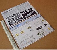 Waterline Model Ship Cut-out Card Kit #510 Lehrmittelinstitut Wilhelmshaven