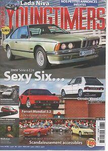 YOUNGTIMERS 73 BMW SERIE 6 E24 1976 1989 CITROEN VISA GTI FERRARI MONDIAL 3.2