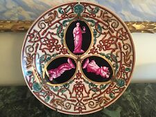 Sevres Porcelain Chateau de St. Cloud Cabinet Plate cir. 1847