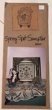Ewe & Eye & Friends Small Counted Thread Spring Spot Sampler Slagel Stark
