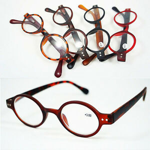 2015-1 Designer Small round Oval Vintage Retro Reading Glasses Readers +1 +2 +3