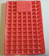 Jello Jigglers Jelly Bean Mold Easter Holiday Party Shooters Red Plastic Spring