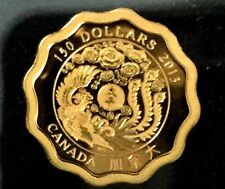 99.999% PURE Gold Coin - Blessings of Peace - Mintage: 888 (2013)