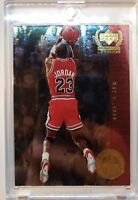 *Rare* 1999 Upper Deck Century Legends Most Memorable Shots #MJ2 Michael Jordan