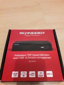 SCHNEIDER SC130TNT Decodeur TNT HD Radiola - TV recorder -MEPG4 - HDMI- USB -