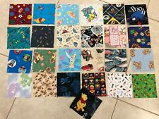 """5"""" CHARM SQUARES- LOT of 25  - QUILT FABRIC, Novelty Quilt fabrics"""