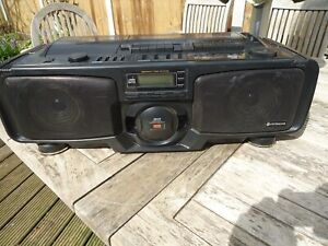 hitachi cx w 700  boombox ghettoblaster, ,working, new belts