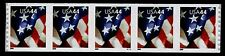 United States, Scott # 4394, Strip Of 5 Mnh Pnc # V1111 44c Usa Flag, Mnh