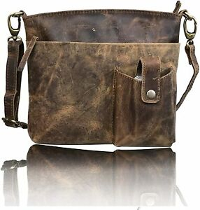 Leather Crossbody Purse Women Messenger Travel Satchel Sling Shoulder  Handbags