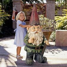 Hi Ho! Off To Work We Go - Child Sized Grand Scale Giant Dwarf Garden Gnome