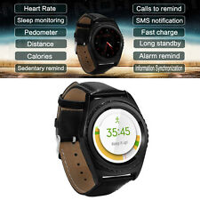 Bluetooth Smart Wrist Watch 2G+3G GSM TF/SIM Card Phone Mate for IOS Android Hot
