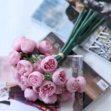 27 Heads Artificial Rose Silk Flowers Fake Flower Bouquet For Home Wedding Decor