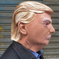 Realistic Donald Trump Halloween Vollkopf Latex Adult Maske Cosplay Kostüm Maske