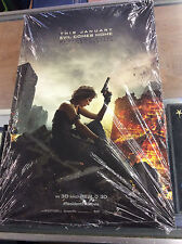 "Resident Evil The Final Chapter Mini 11""x 17"" Poster Lot In Sealed Bag! Pics!"