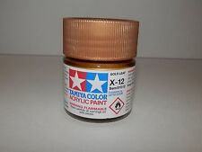 Tamiya Color Acrylic Paint Gold Leaf #X-12 (23 ml) NEW