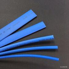 BLUE 2:1 Heat Shrink Tubing 600V Polyolefin Size 2.5-15mm Total 5M 16FT #EWgtn