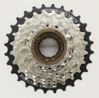 MOUTAIN BIKE 8 SPEED  SCREW ON FREEWHEEL COGS 13T - 28T WORKS WITH SHIMANO,