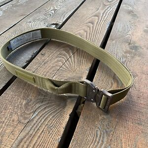 Fusion Tactical Military Police Trouser Raptor Belt Olive Brown Men's Size M