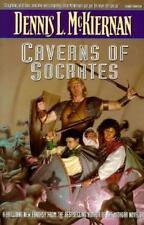 ~~ DENNIS L. McKIERNAN ~~ CAVERNS OF SOCRATES ~~  1995 TRADE PAPERBACK