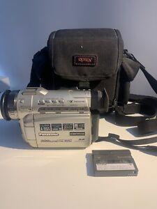 Panasonic PV-DV601DK Mini DV Camcorder 300X Digital Zoom NTSC Vintage Home Video