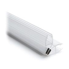 Magnetdichtung 90° (Paar), L 2500 mm für Glasstärke 8 mm