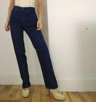 vintage LEVIS 627 High rise waist Straight JEANS size W28 L32uk 10 ladies women