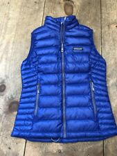 NWT Patagonia Women's Down Sweater Vest Size Extra Small Harvest Moon Blue