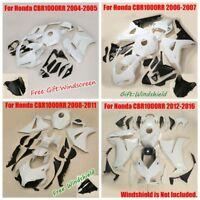 Unpainted Fairing Bodywork Kit For Honda CBR1000RR 04-16 04-05 06-07 08-11 13-16