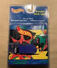 Mattel 1999 Hot Wheels Peel & Stick Wall Border Made in Usa