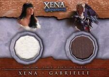 Xena Beauty and Brawn Xena & Gabrielle Double Costume Card DC4
