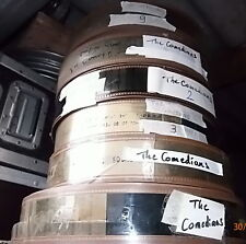RARE - FILM PELLICULE CINE 70MM - THE COMEDIANS - PANAVISION 7 BOBINES INCOMPLET